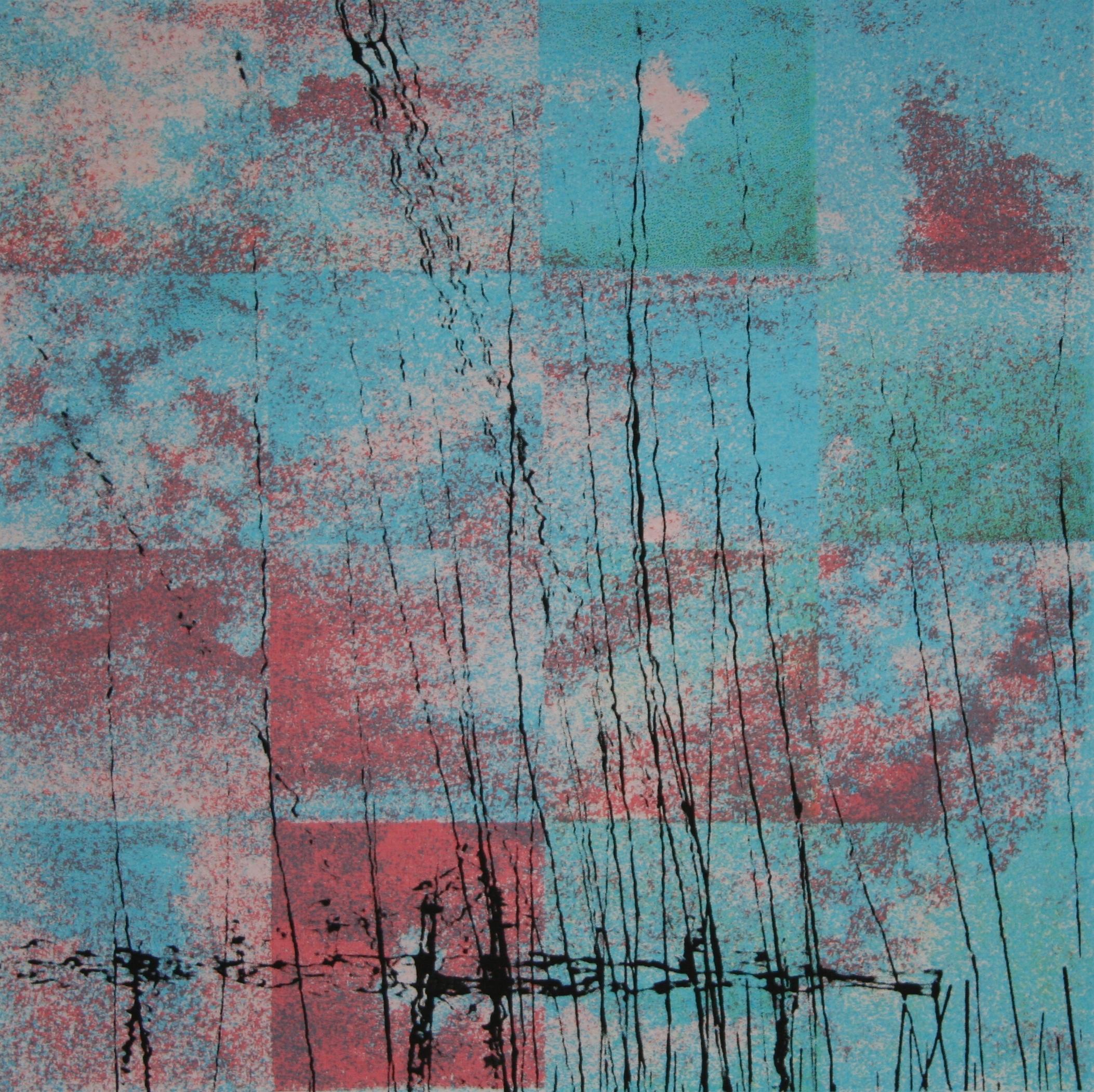 Luchtspiegeling (roze) 20 x 20